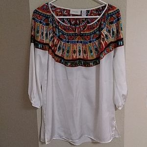 Chico's Southwest Theme Top NWOT